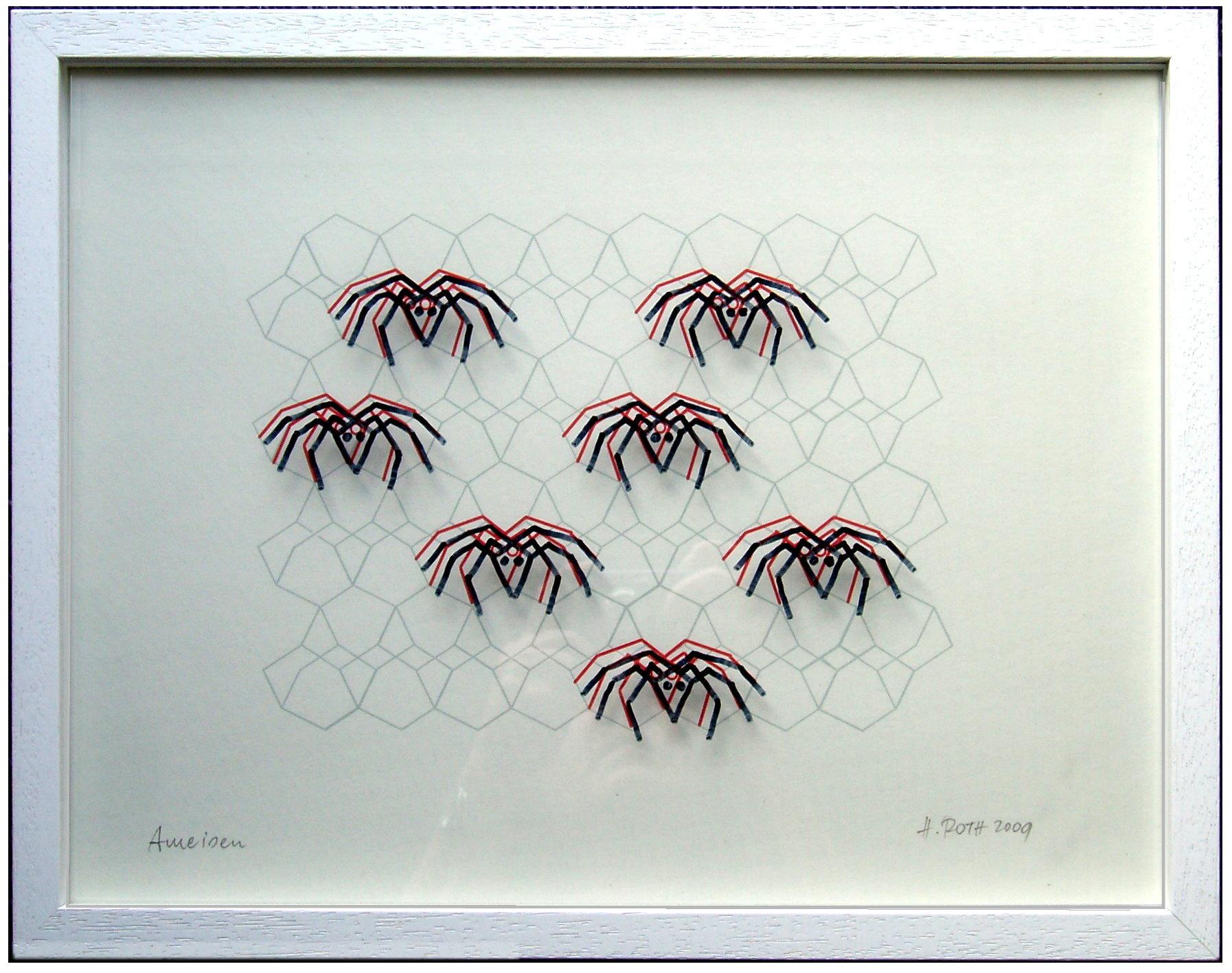 Ameisen im Diamantgitter