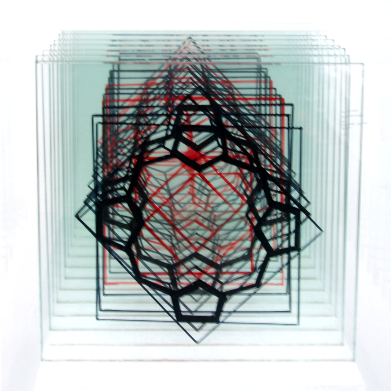 Tischobjekt - Porphyrin