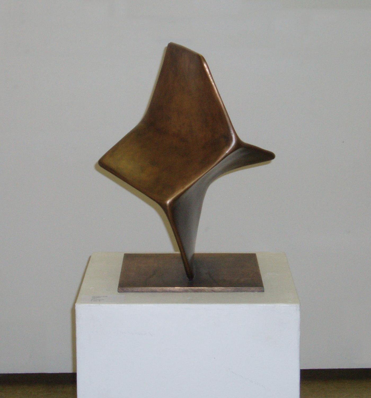 Twistan - Bronzeskulptur