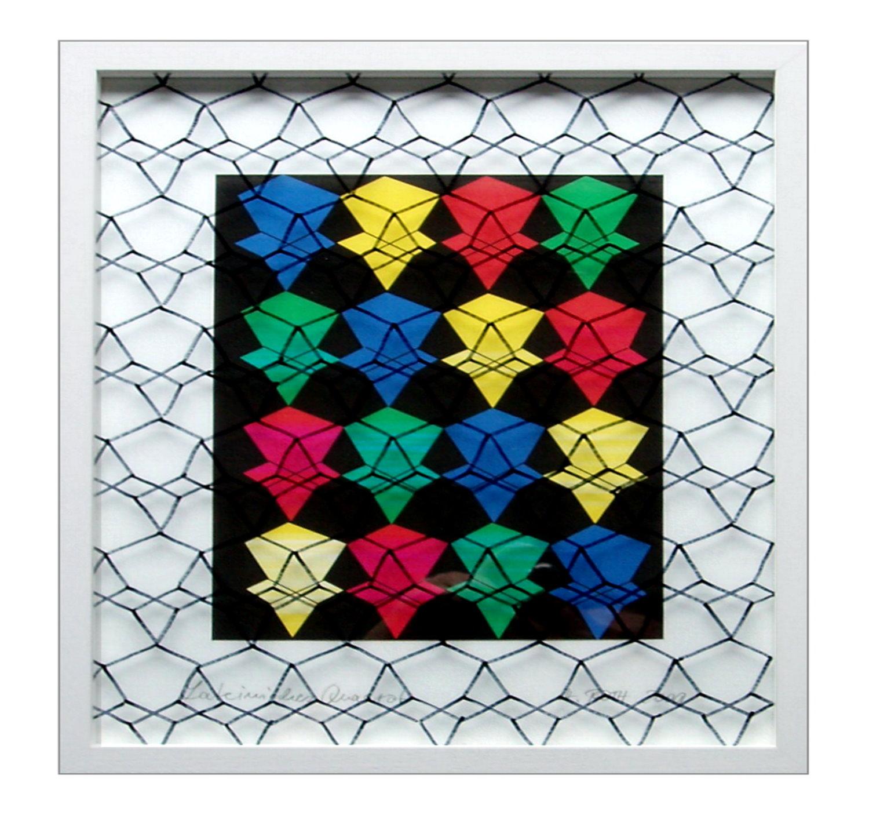 Lateinisches Quadrat im Diamantgitter