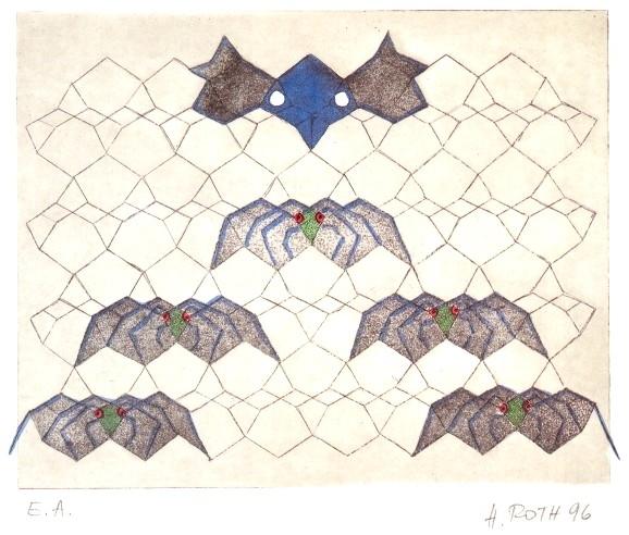Diamantgitter Nr. 5