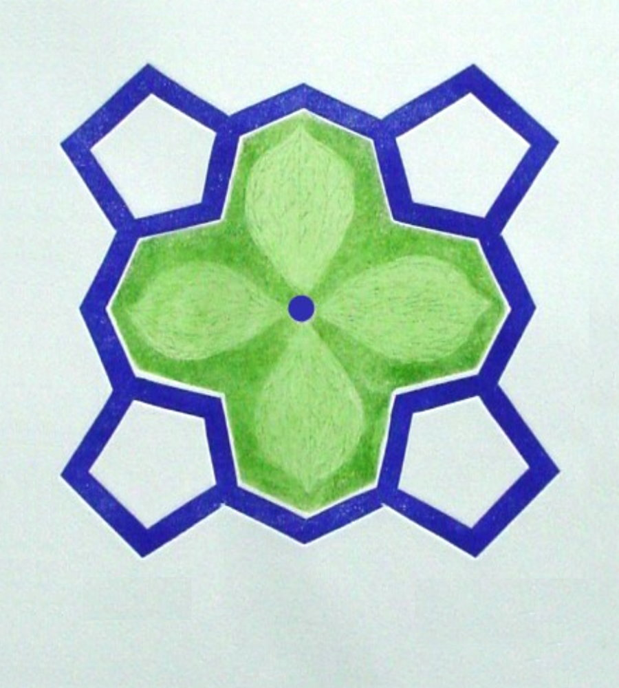 Paris quadrifolia - Farbradierung