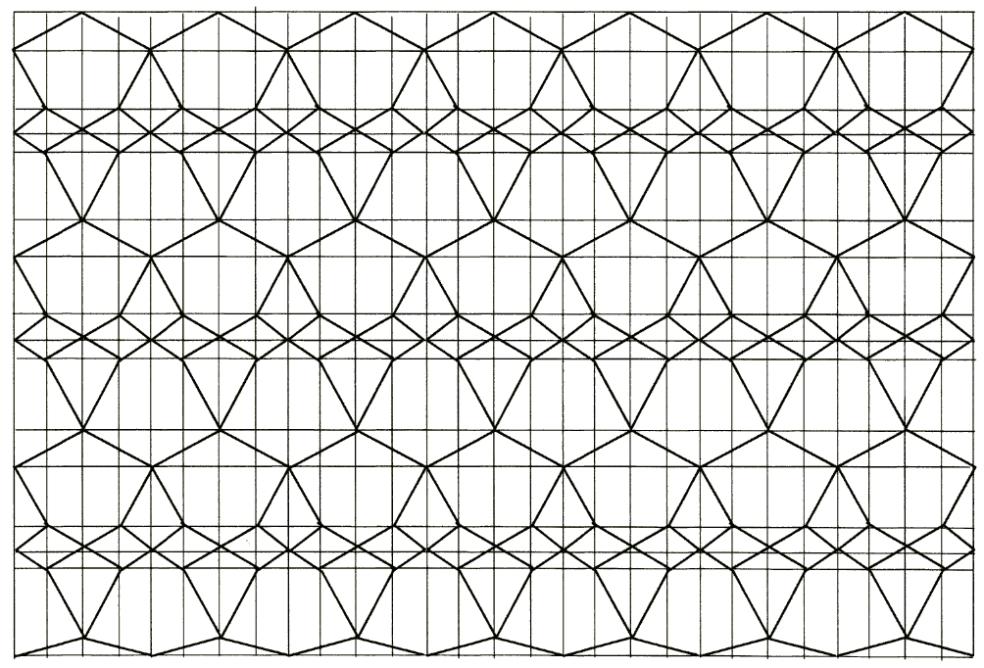 Diamantgitter-Basiszeichnung