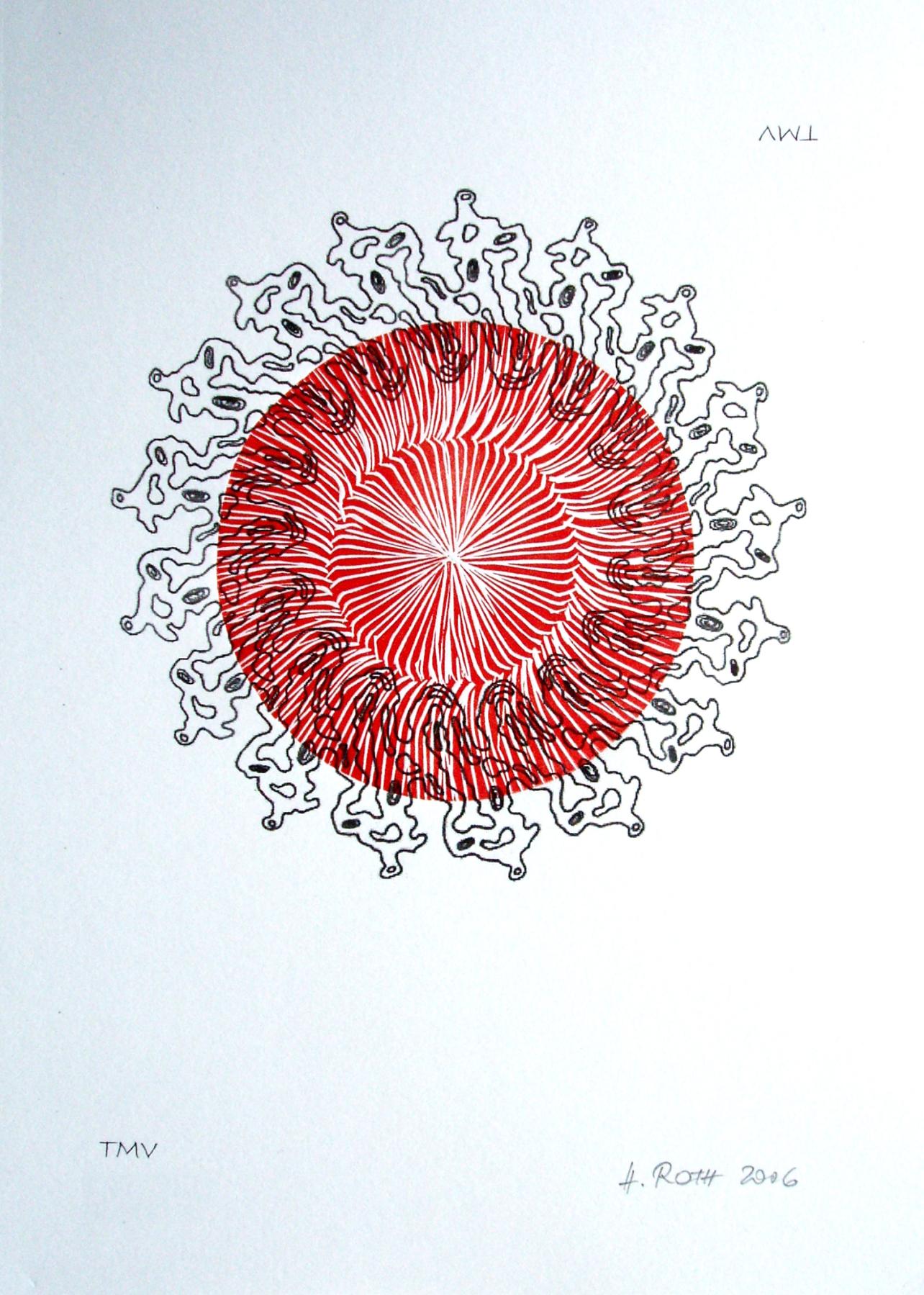TMV - Tabakmosaikvirus