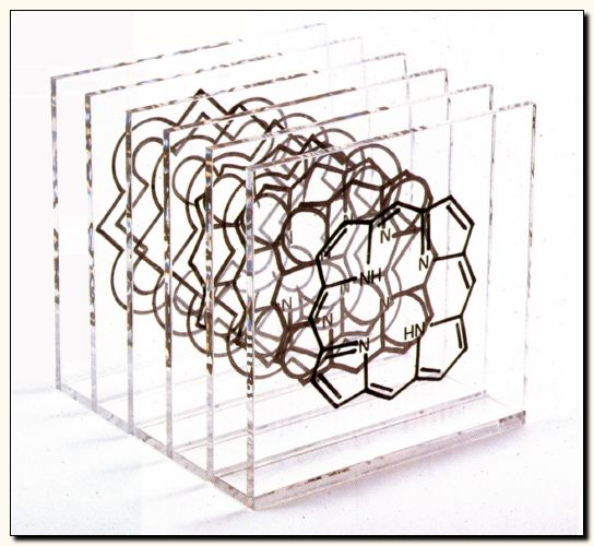 Porphyrin-Tischobjekt